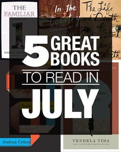 5 Great Books To Read In July
