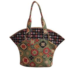 The Sassy Tote Bag - PDF Sewing Pattern from Around The Bobbin