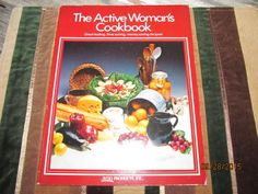 Vintage Avon The Active Woman's Cookbook Soft Cover Recipe Book Cook Book 1980 by EvenTheKitchenSinkOH on Etsy