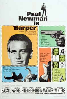 Paul Newman is Harper