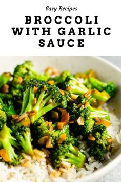 Broccoli With Garlic Sauce, Fresh Broccoli, Broccoli Soup, Broccoli Chicken, Broccoli Cauliflower, Broccoli Dishes, Lemon Chicken, Cauliflowers