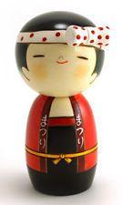 Japanese Kokeshi doll.