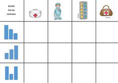 Juf Berdien matrix ziek zijn dokter kleuters klas Preschool