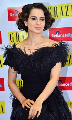 Kangana Ranaut at a fashion magazine event. #Bollywood #Fashion #Style #Beauty #Hot #Sexy