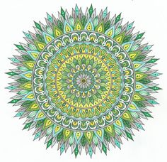 This is Starlight Delight colored by Lois S.. One of 100+ printable mandalas you can color for free! https://mondaymandala.com/m/starlight-delight?utm_campaign=sendible-pinterest&utm_medium=social&utm_source=pinterest&utm_content=starlight-delight&utm_term=fancolor
