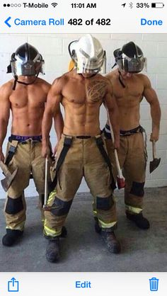 Firemen are the best !
