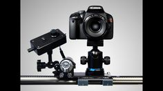 A versatile and affordable motion control kit. Add precise automated movement to your camera slider or dolly for time-lapse or video.