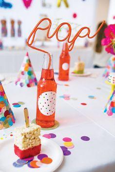 """""""Sprinkle Dot Fun"""" Rainbow Birthday Blast"""