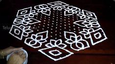 Sankranthi and BHOGI kolam designs with 21-11 midlle | chukkala muggulu ...