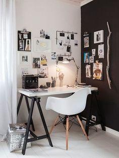 Рабочее место - скандинавский стиль - Дизайн интерьеров   Идеи вашего дома   Lodgers