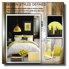 """""""Yellow Spring!"""" by eco-art ❤ liked on Polyvore featuring interior, interiors, interior design, home, home decor, interior decorating, Linen House, Original BTC, Kim Salmela and Artek"""
