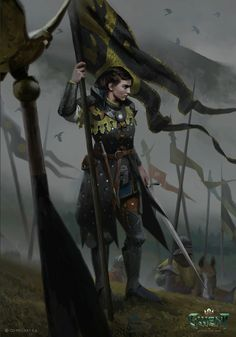 Dnd Characters, Fantasy Characters, Female Characters, Witcher Art, The Witcher, Fantasy Armor, Medieval Fantasy, Character Portraits, Character Art