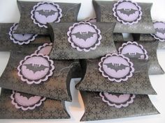 Halloween Pillow Boxes Halloween Party Favors by SassyScrapsCrafts, $12.00
