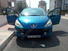 Peugeot 307 1.6 HDI Comfort Yakıt Cimrisi Plakasida 307 Kendiside 307 Mavi 110Bg 1.6 Peugeot