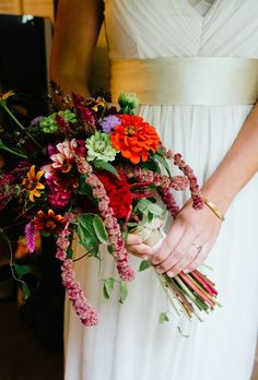 Bouquets from Real Weddings | Brides