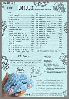 Kawaii Crochet, Cute Crochet, Crochet Crafts, Crochet Projects, Crochet Amigurumi Free Patterns, Crochet Dolls, Baby Shower Gifts To Make, Crochet Chicken, Crochet Wreath