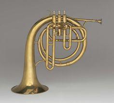 Ballad horn in C (Hillyard, about 1880–86)
