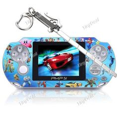 """PMP IV 2.8\"""" TFT Screen Game Console + 4.7″ Attack on Titan Alloy Sword with Keychain KB-377997"""