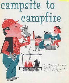 1950s Illustrations