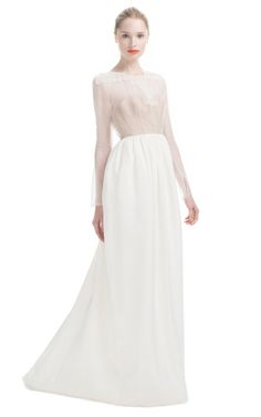 Stretch Canvas Guipure Lace Bustier Gown by Honor for Preorder on Moda Operandi