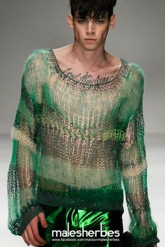maison-malesherbes:  [ Fashion ] James Long SS2010  Please follow us on our FACKBOOK page, if you interested and also to know more about us and crochet, knitting, arts, fashion, movies and more… https://www.facebook.com/maisonmalesherbes/