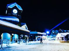 Heading out on a Big White Family Ski Vacation? Here are the top 7 things essential to making the most out of your trip to Big White Ski Resort! Big White Ski Resort, Ski Vacation, Skiing, Night, Ski