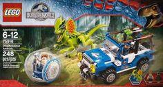 LEGO Jurassic World Dilophosaurus Ambush 75916 Building Kit 248 Pc Dinosaur Toy #LEGO