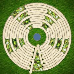 Prayer Labyrinth @raevan #30daysofcreativity #day18. This an amazing labyrinth. I would love to have this one to walk!