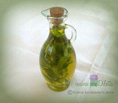 Olio aromatizzato al basilico, ricetta condimento