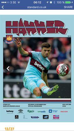 West Ham United Fc, Barclays Premier, Barclay Premier League, Stoke City, Kicks, The Unit