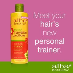 Buff up limp locks with Alba Botanica® Body Builder Mango Conditioner. Could your hair use some volumizing?