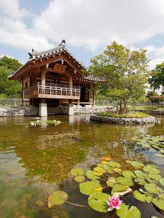 Koreanischer Garten - FRANKFURT
