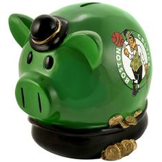 Boston Celtics Team Thematic Piggy Bank (Small) #BostonCeltics