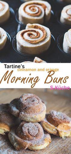 Tartine's Morning Buns mit Orange und Zimt-Zucker - simply the best!