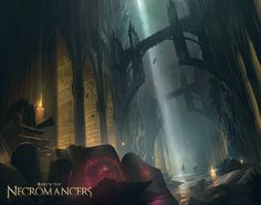 Rise of the Necromancers, Simon Fetscher on ArtStation at https://www.artstation.com/artwork/1GQRL