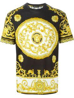 Versace Camiseta Estampada - Vitkac - Farfetch.com