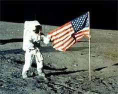 Neil Armstrong - July 1969 - First Moonwalk.