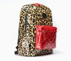 Hello Kitty Backpack  Red Leopard 0a526d6cf2098