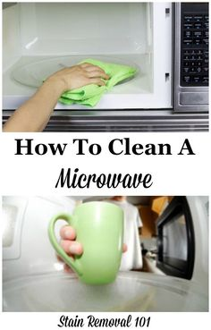 How To Clean Microwave Home Remes