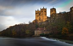 Durham Cathedral From The Riverside. Taken at Durham on 24/11/2014. By Mike Atkinson Photography.