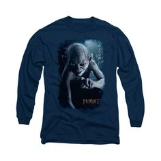 The Hobbit - Gollum Poster Adult Long Sleeve T-Shirt