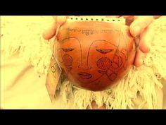 Kalimba Africa Ancestral 10 notas desenhada