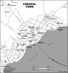 Corozal Town Map