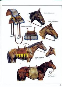 Silla de montar tipo normando (c. siglo X). Crusader Knight, Knight Armor, Mystery Of History, Art History, Mounted Archery, Horse Harness, Horse Armor, Horse Facts, Dark Ages