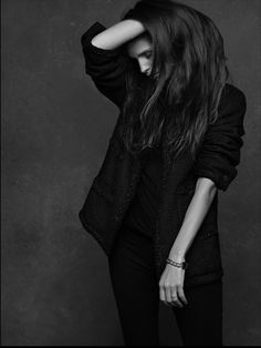 The Little Black Jacket by Karl Lagerfeld & Carine Roitfeld, Maiwenn