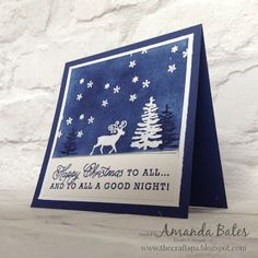 The Craft Spa - Stampin' Up! UK independent demonstrator : Greetings From Santa…