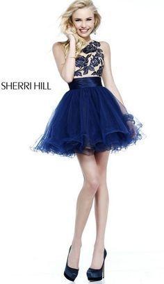 vestidos de 15 años cortos sherri hill.