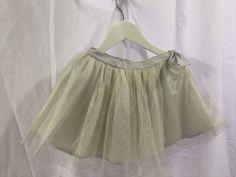 Bonpoint Silver net skirt — My Chelsea Wardrobe