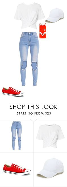 """Foxy"" by mziecellerino on Polyvore featuring T By Alexander Wang, Converse, Sole Society and Maison Kitsuné"