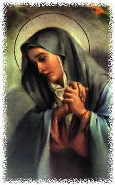 Devoção às sete dores de Nossa Senhora Salve Rainha
